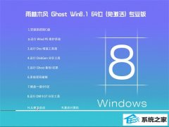雨林木风Windows8.1 64位 旗舰装机版 2021.04