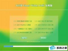 大白菜Windows8.1 64位 精致装机版 2021.04